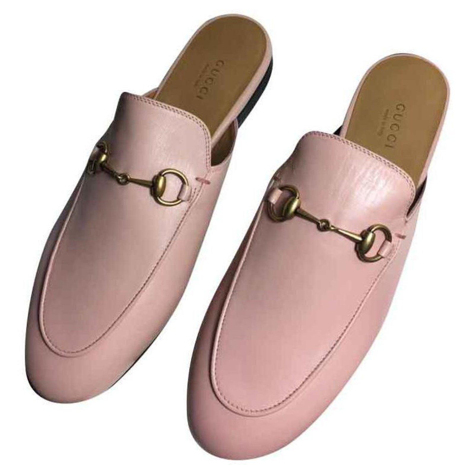 gucci pink mule