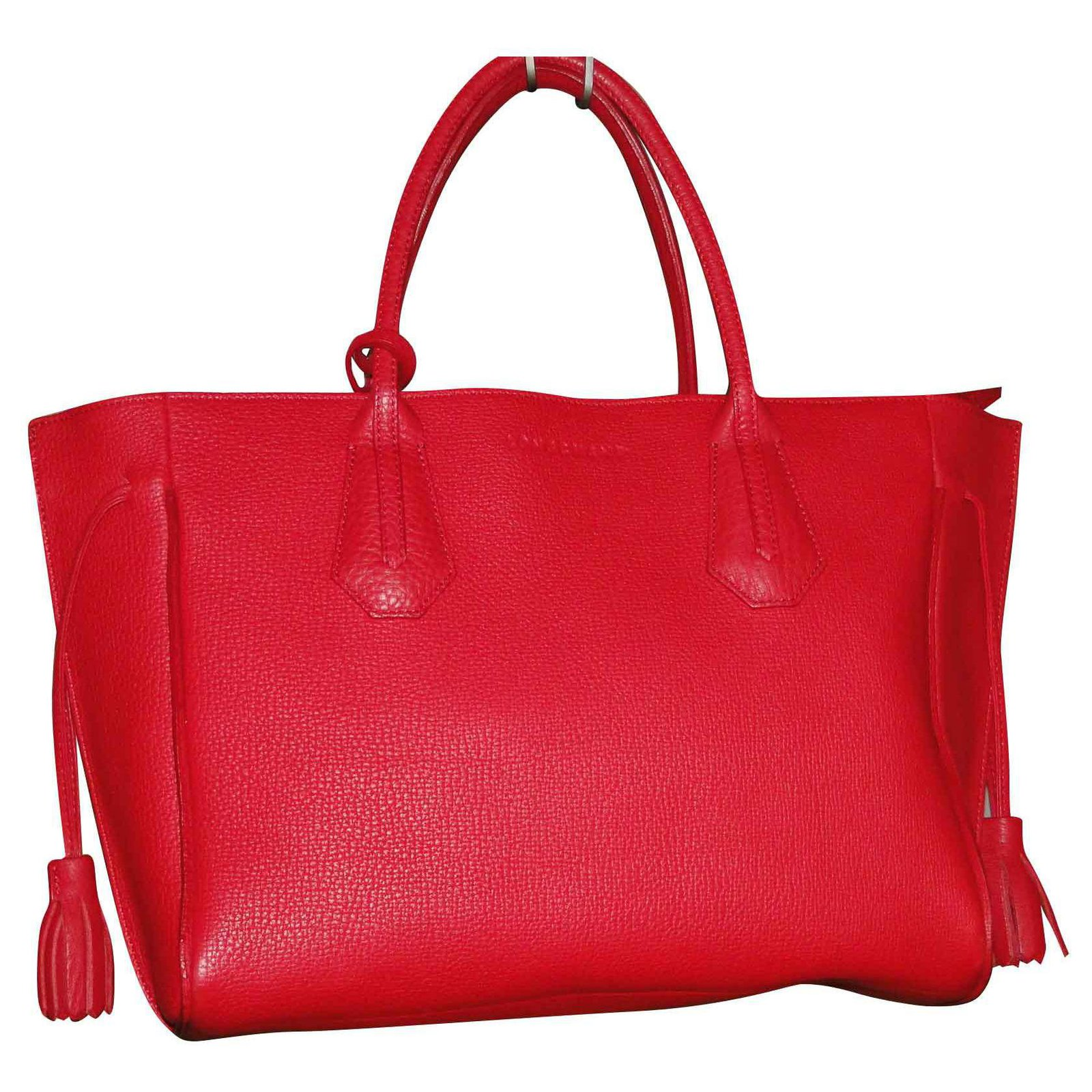 LONGCHAMP Penelope M red bag