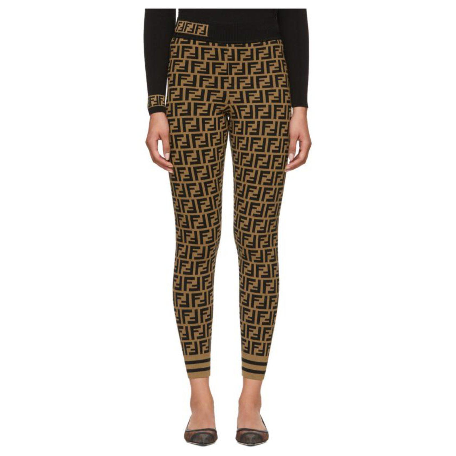 Legging Fendi Off 74 Free Shipping