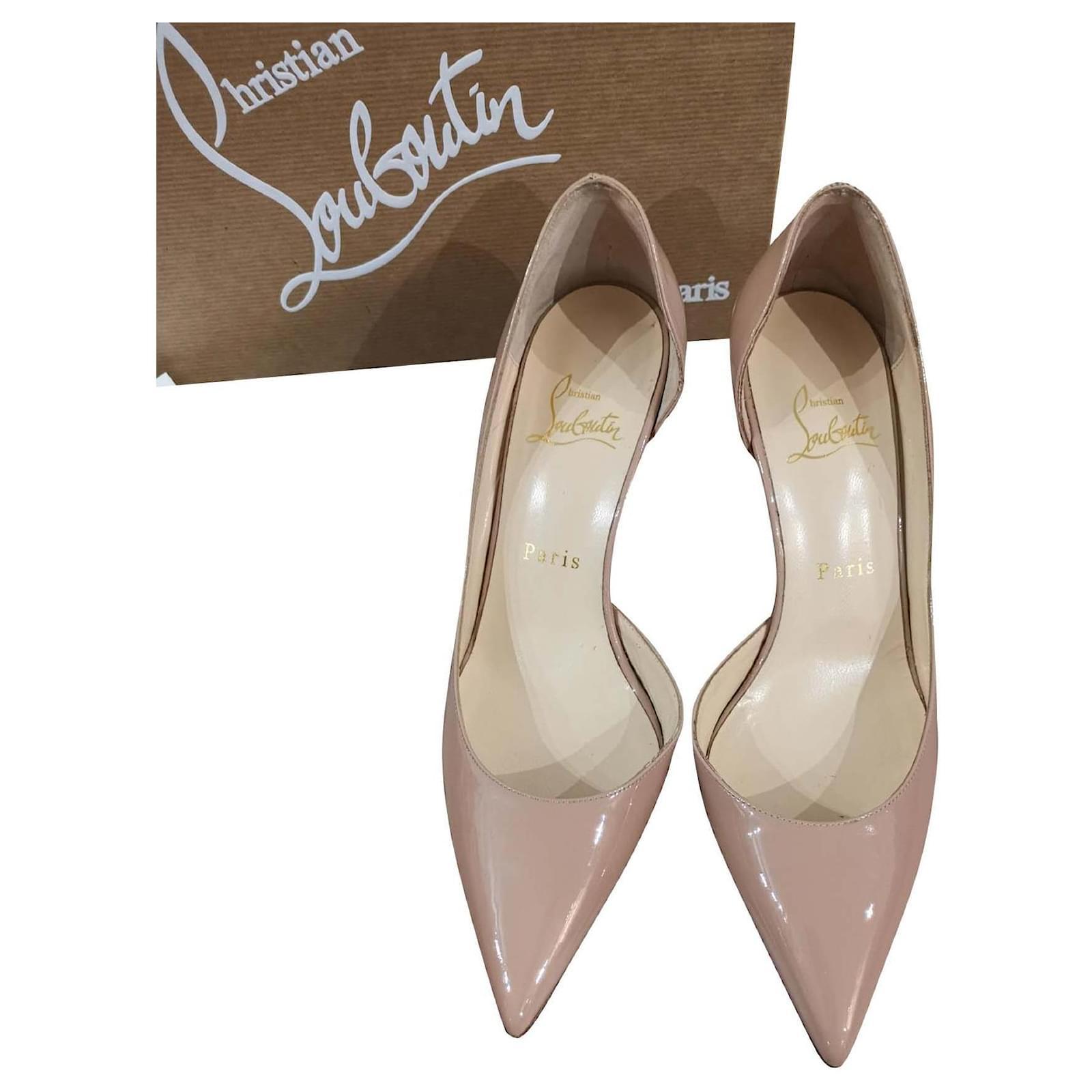 plus récent c9b3e 941ec Christian Louboutin Nude Iriza heels EU36.5