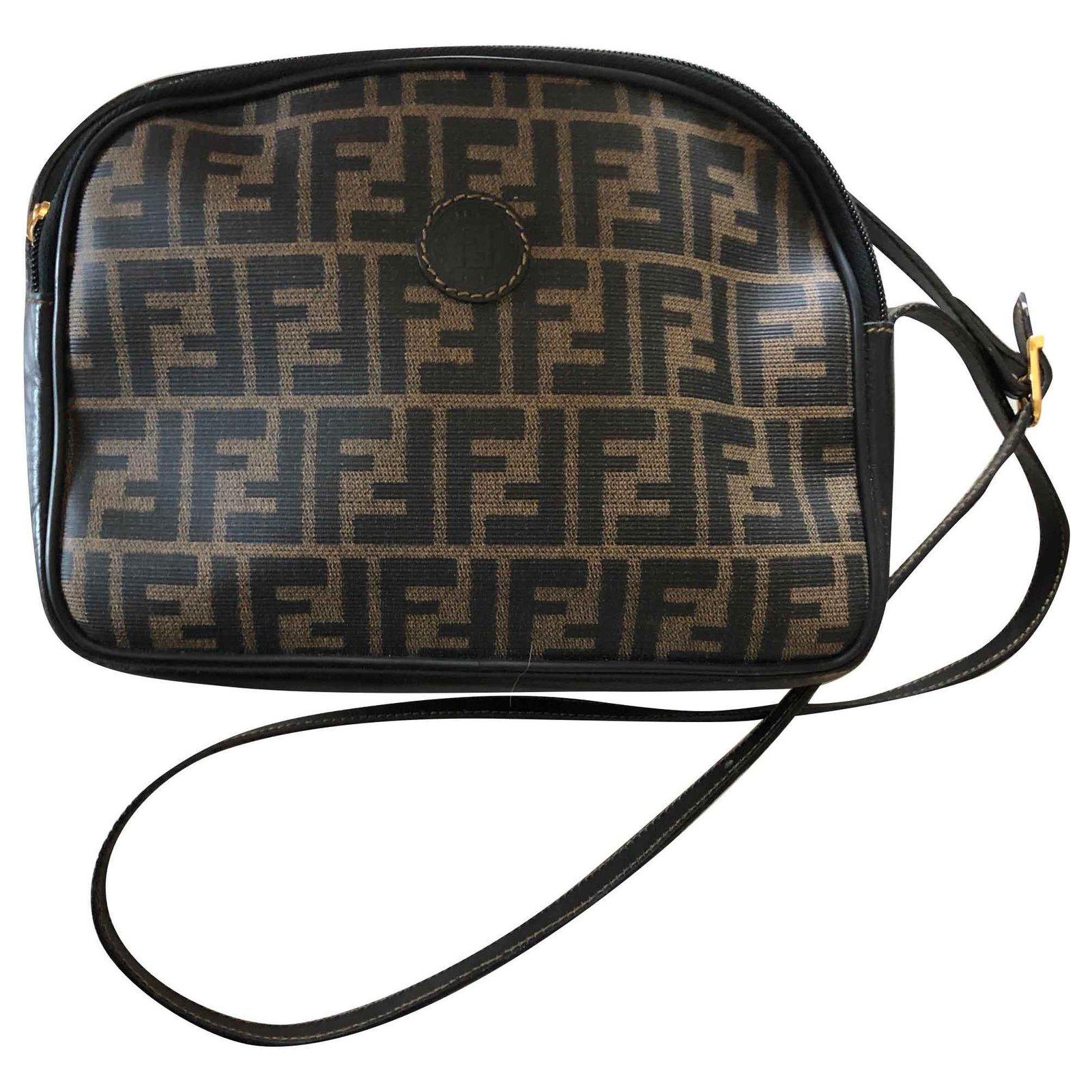 Fendi Zucca Logo Crossbody Bag
