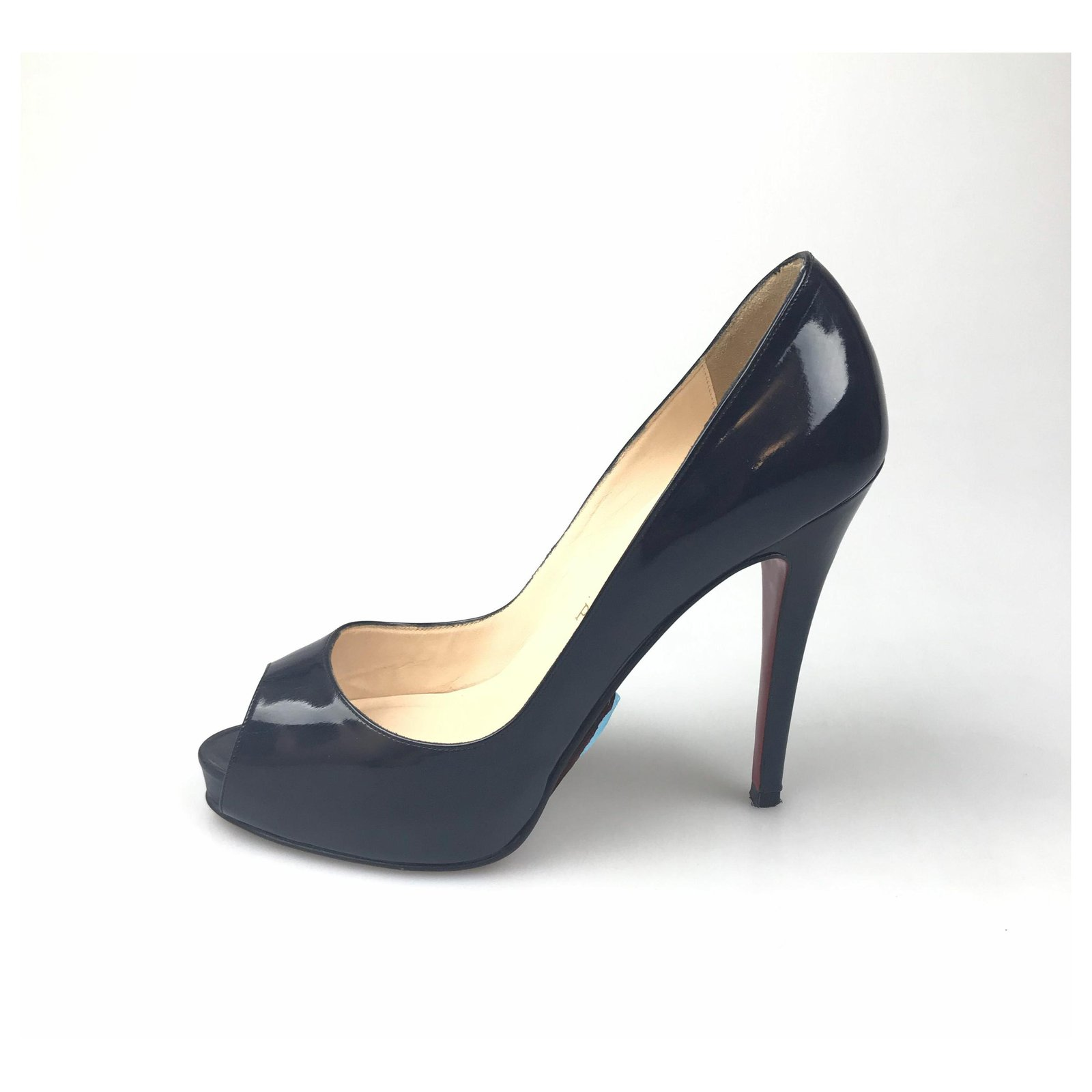 new arrivals 57ec2 78efc Christian Louboutin Black New Very Prive 120