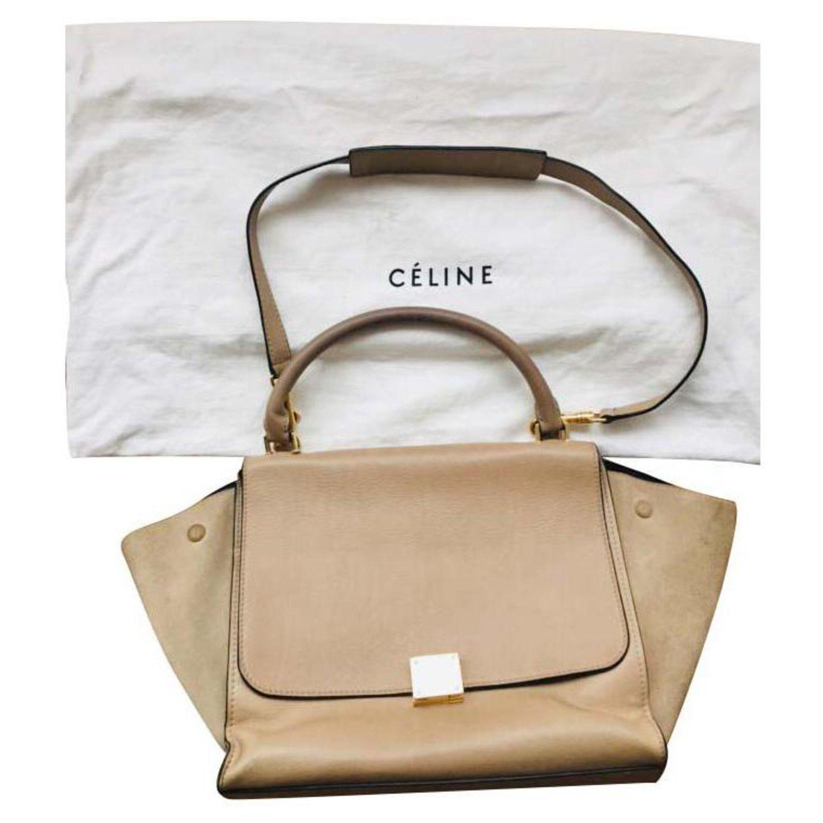 Trapeze Bag Handbags Leather