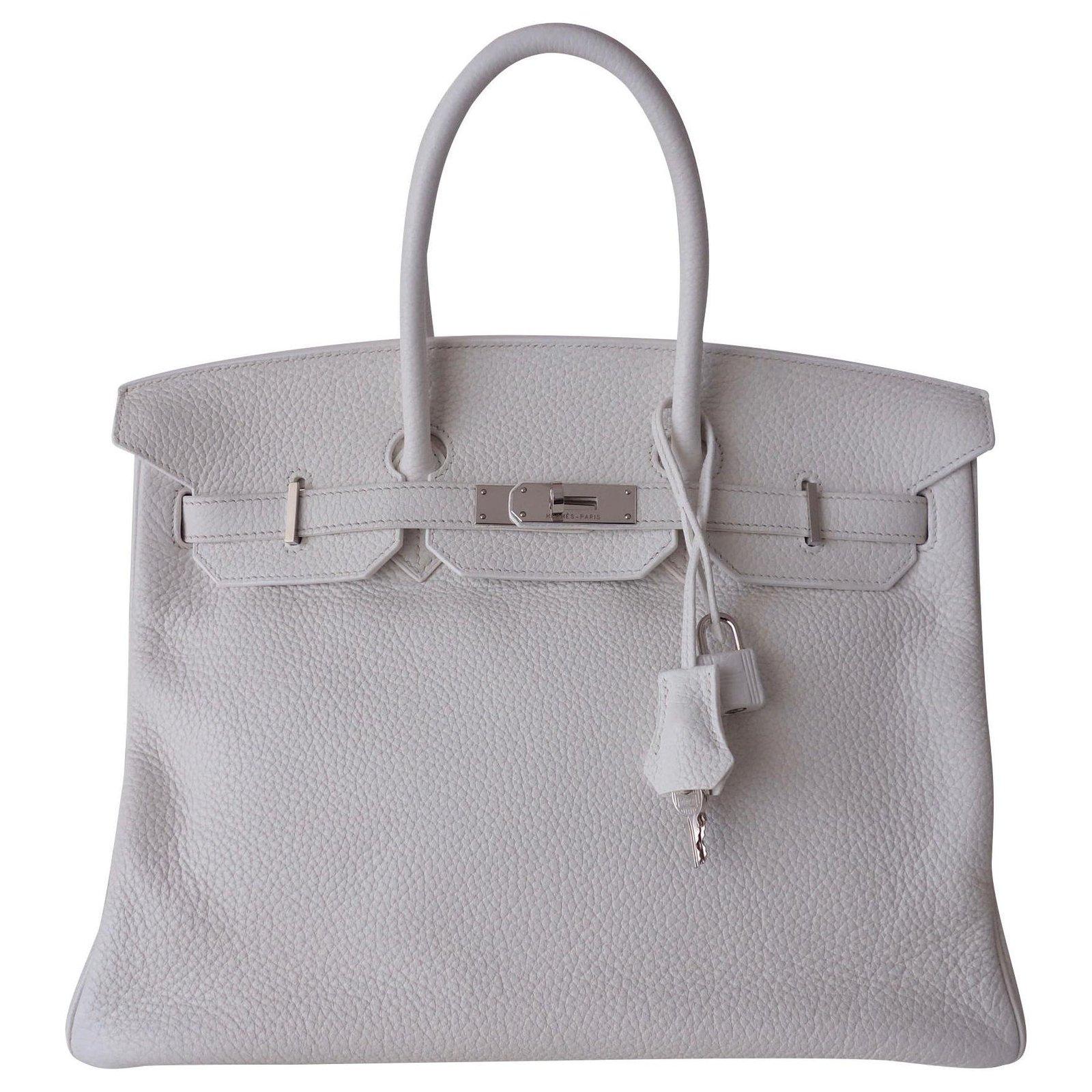 Hermes Birkin Bag 35 Handbags Leather
