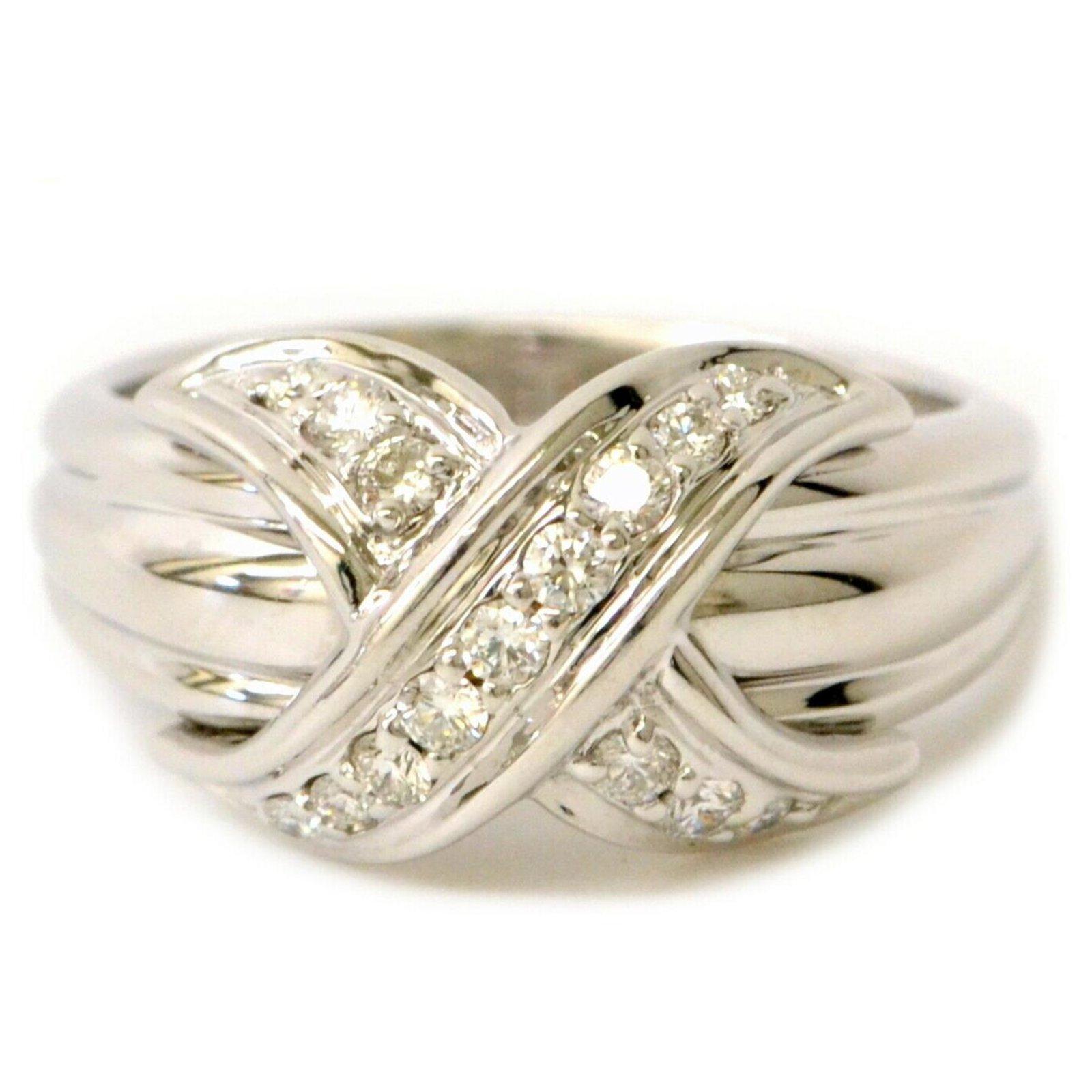 acheter achat authentique vente professionnelle TIFFANY & CO. bague de diamant