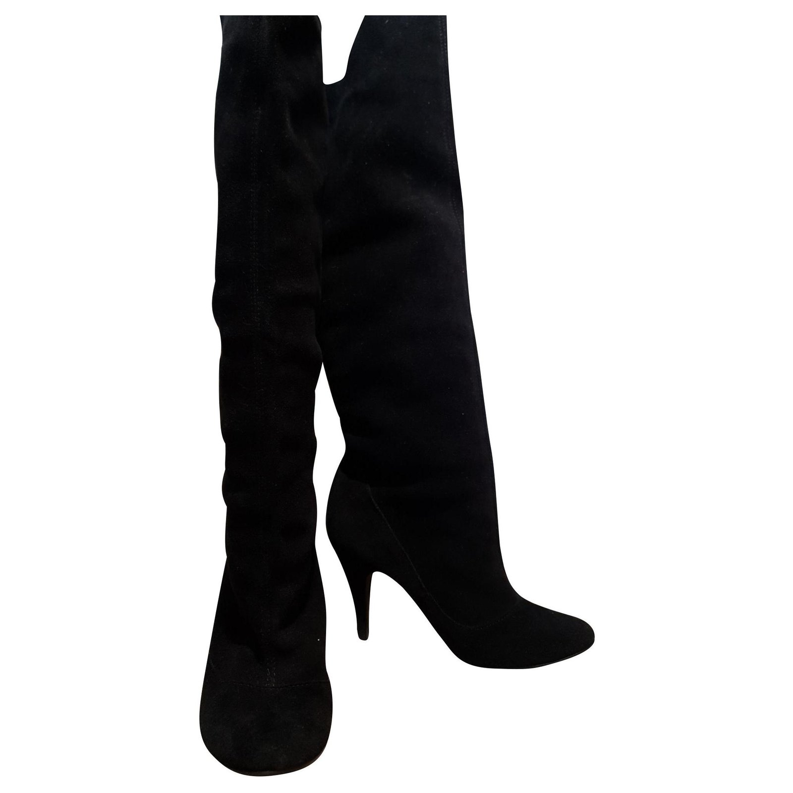 Dune Boots Boots Suede Black ref.149163