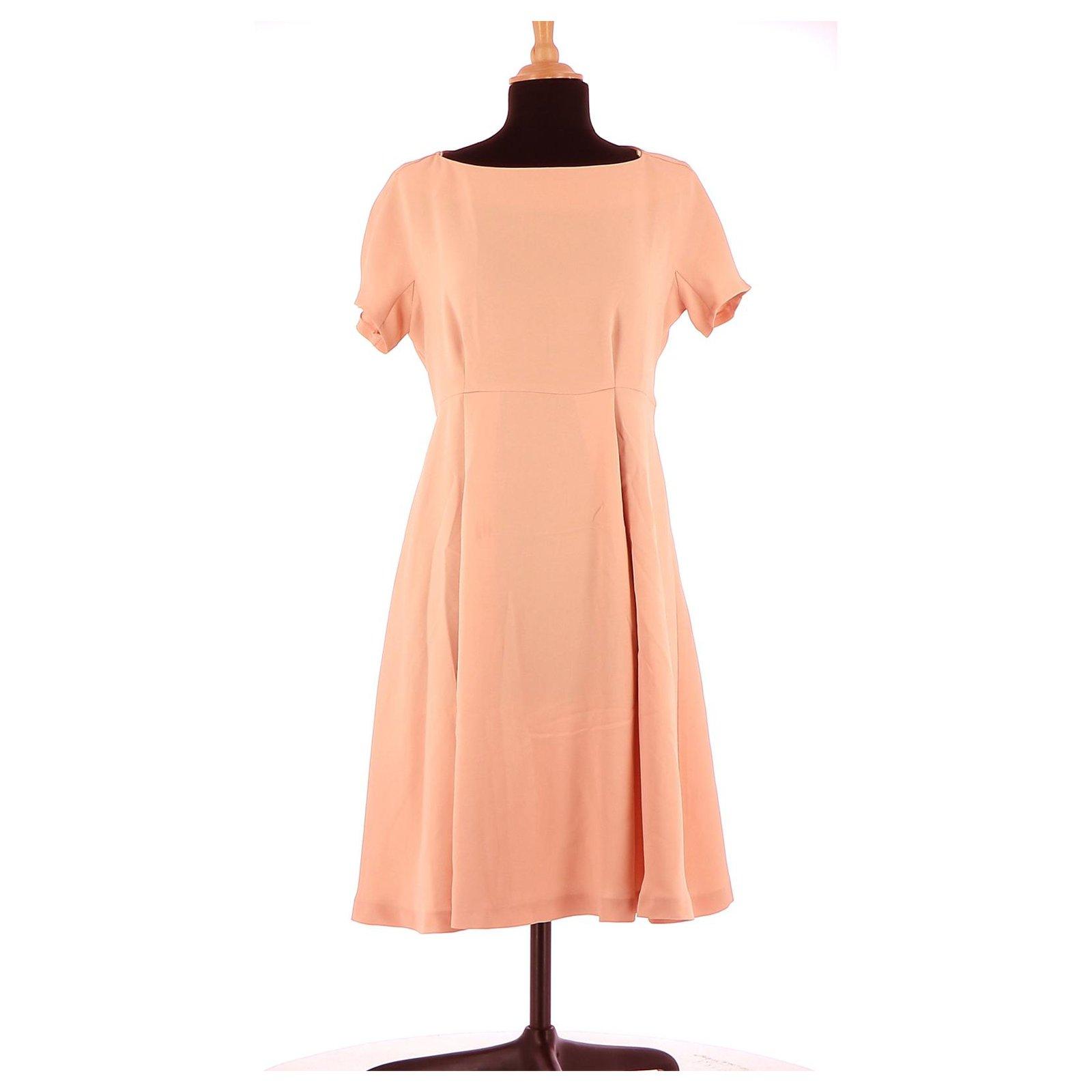 Tara Jarmon Robe Dresses Polyester Pink Ref 150551 Joli Closet