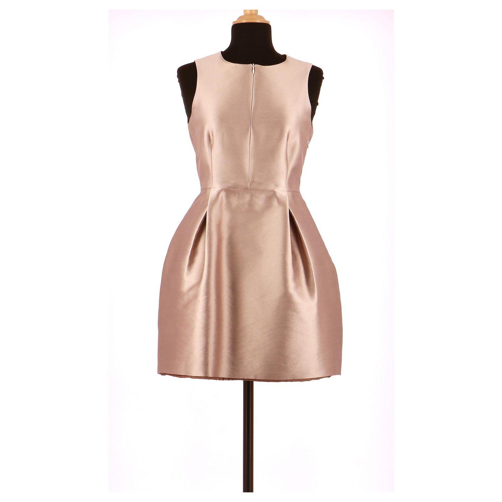 Tara Jarmon Robe Dresses Silk Lavender Ref 152716 Joli Closet