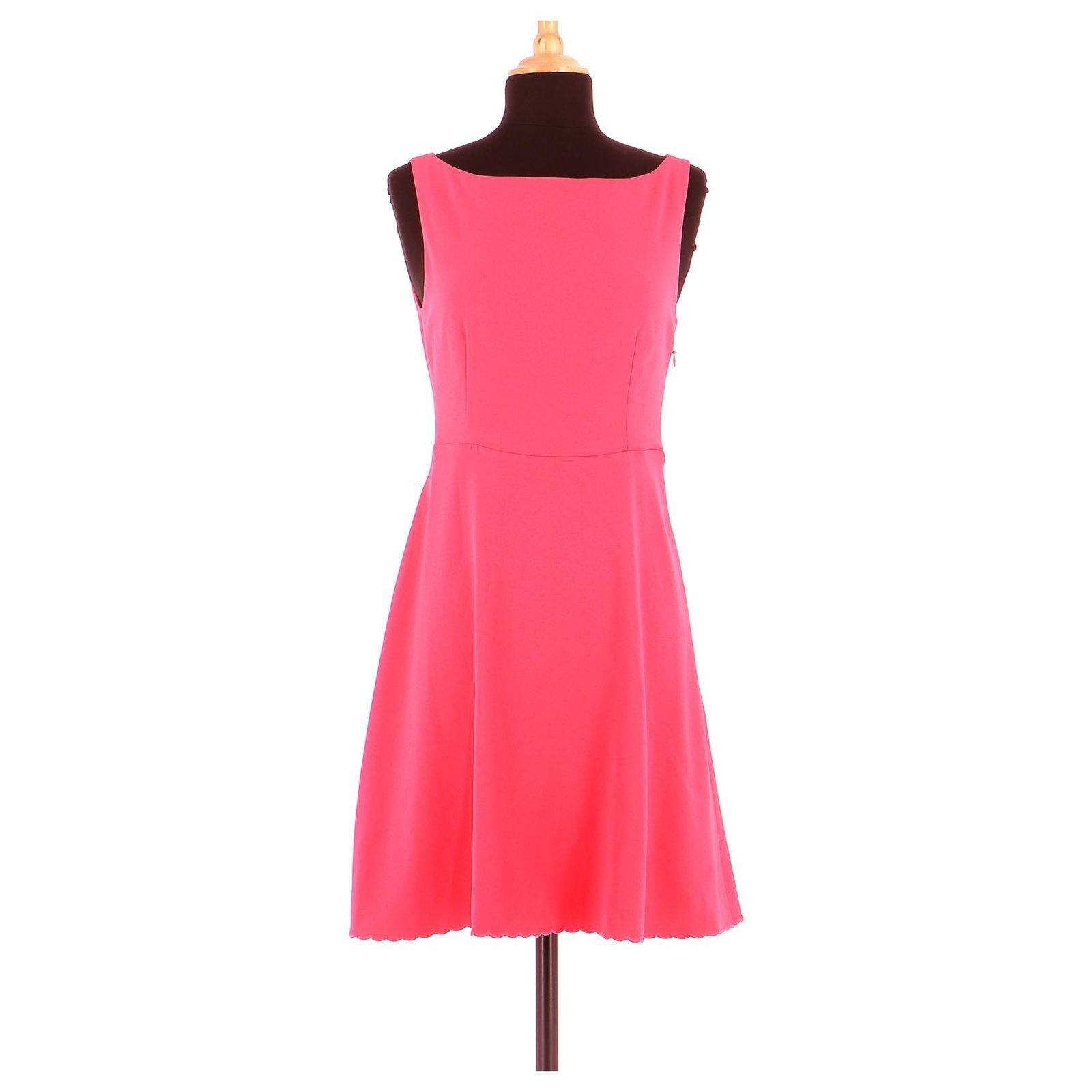 Claudie Pierlot Robe Dresses Triacetate Pink Ref 153137 Joli Closet