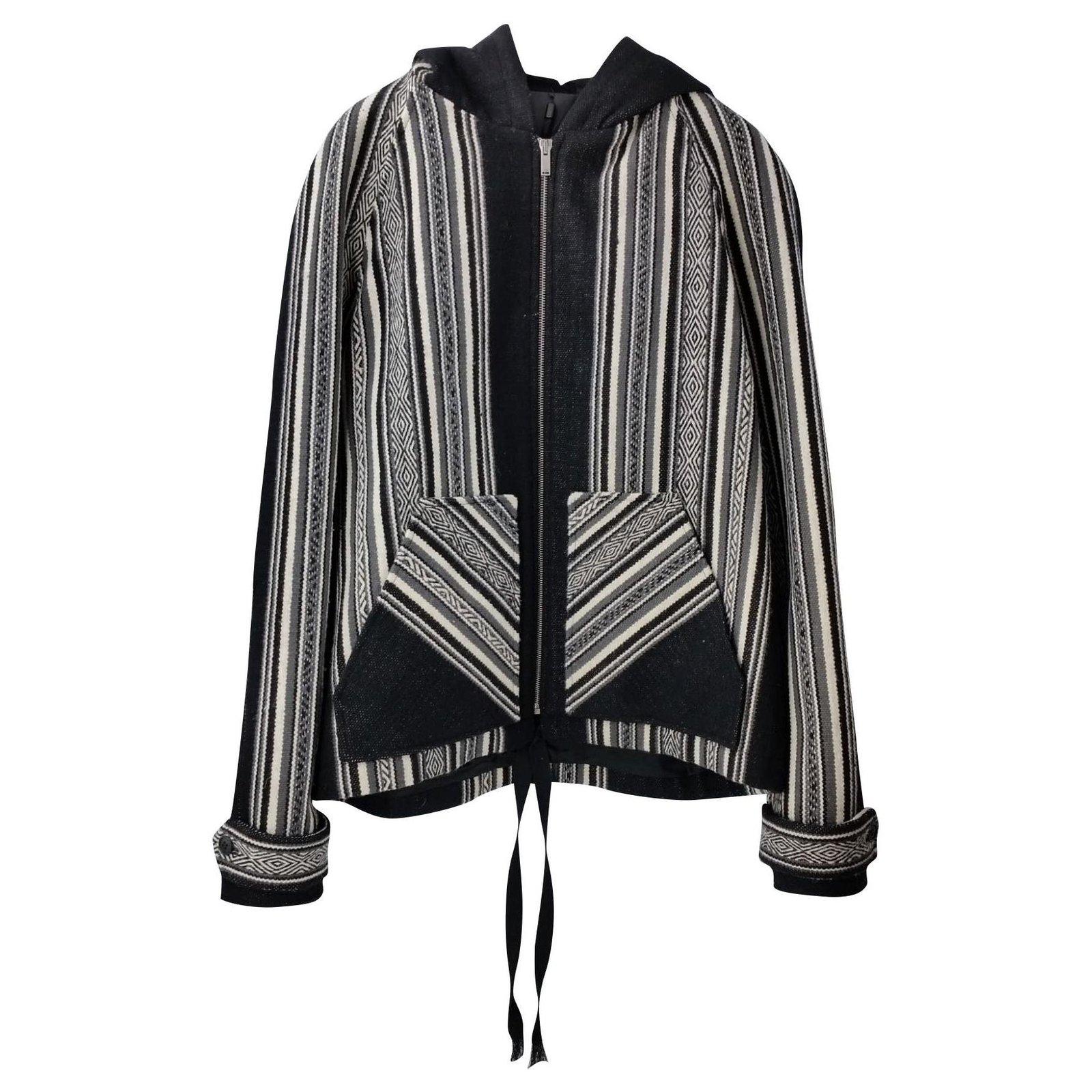 Saint Laurent Men Coats Outerwear Men Coats Outerwear Wool Black ref.162867  - Joli Closet