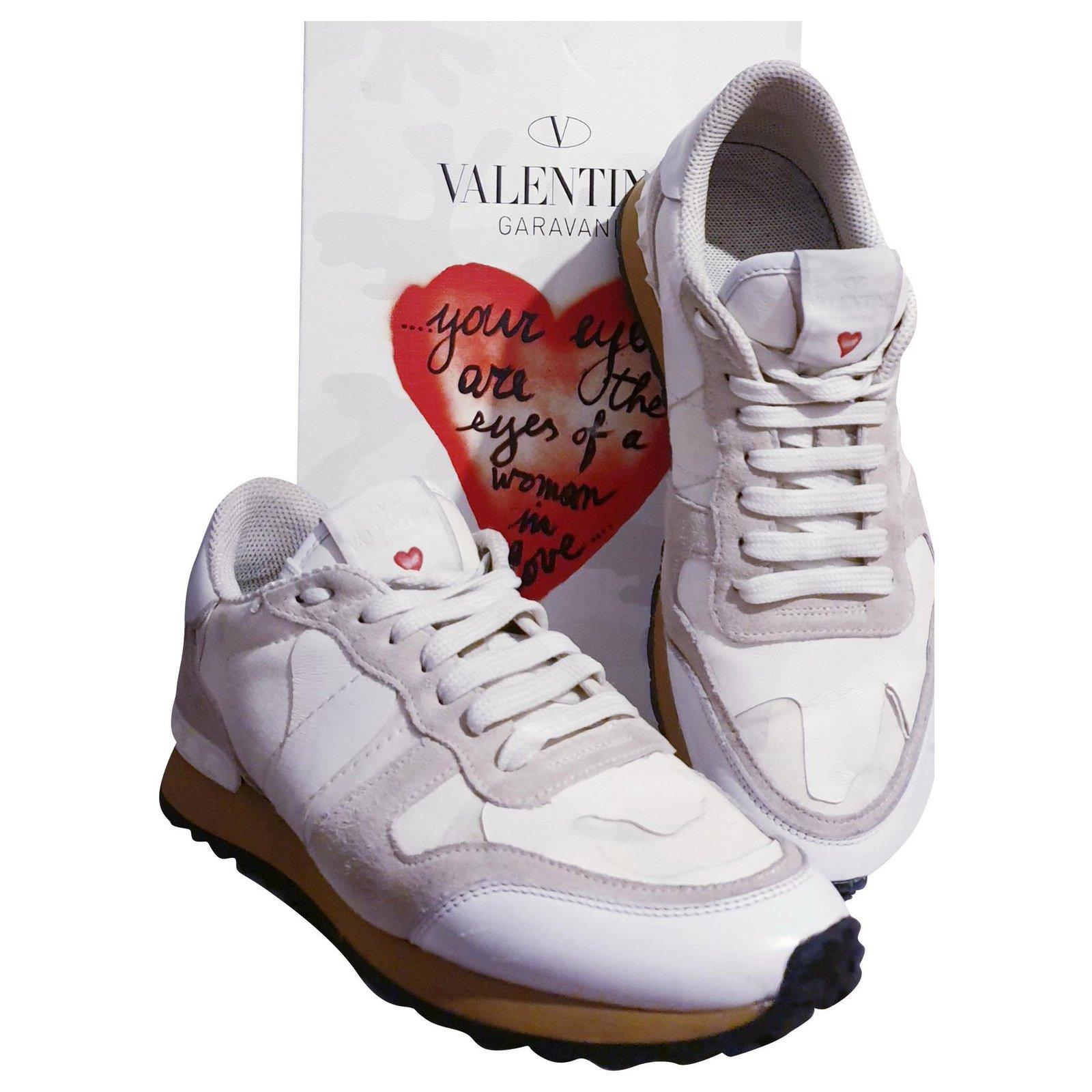 valentino rockrunner white