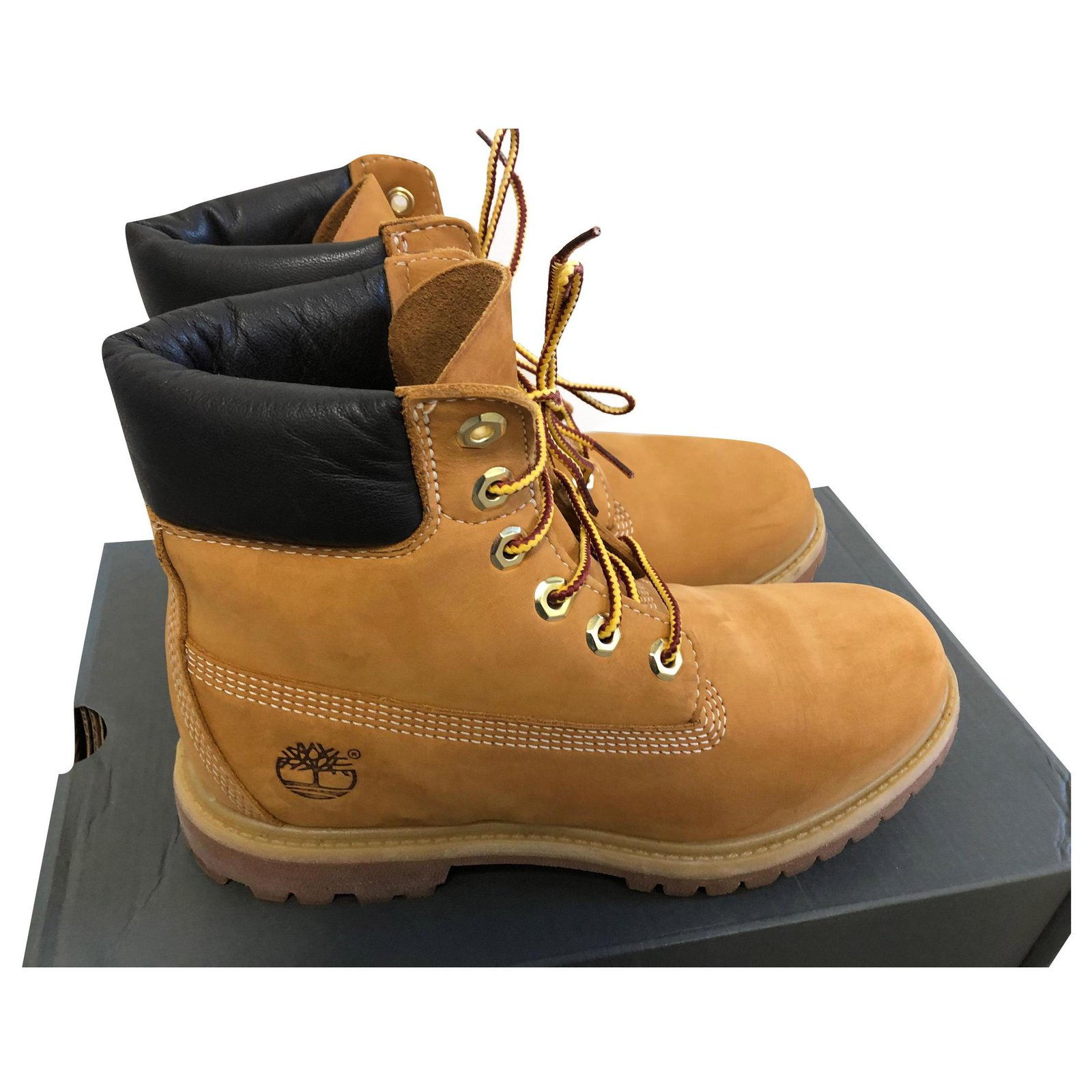 exposición crema fotografía  Timberland Ankle Boots Ankle Boots Nubuck Brown ref.167401 - Joli Closet