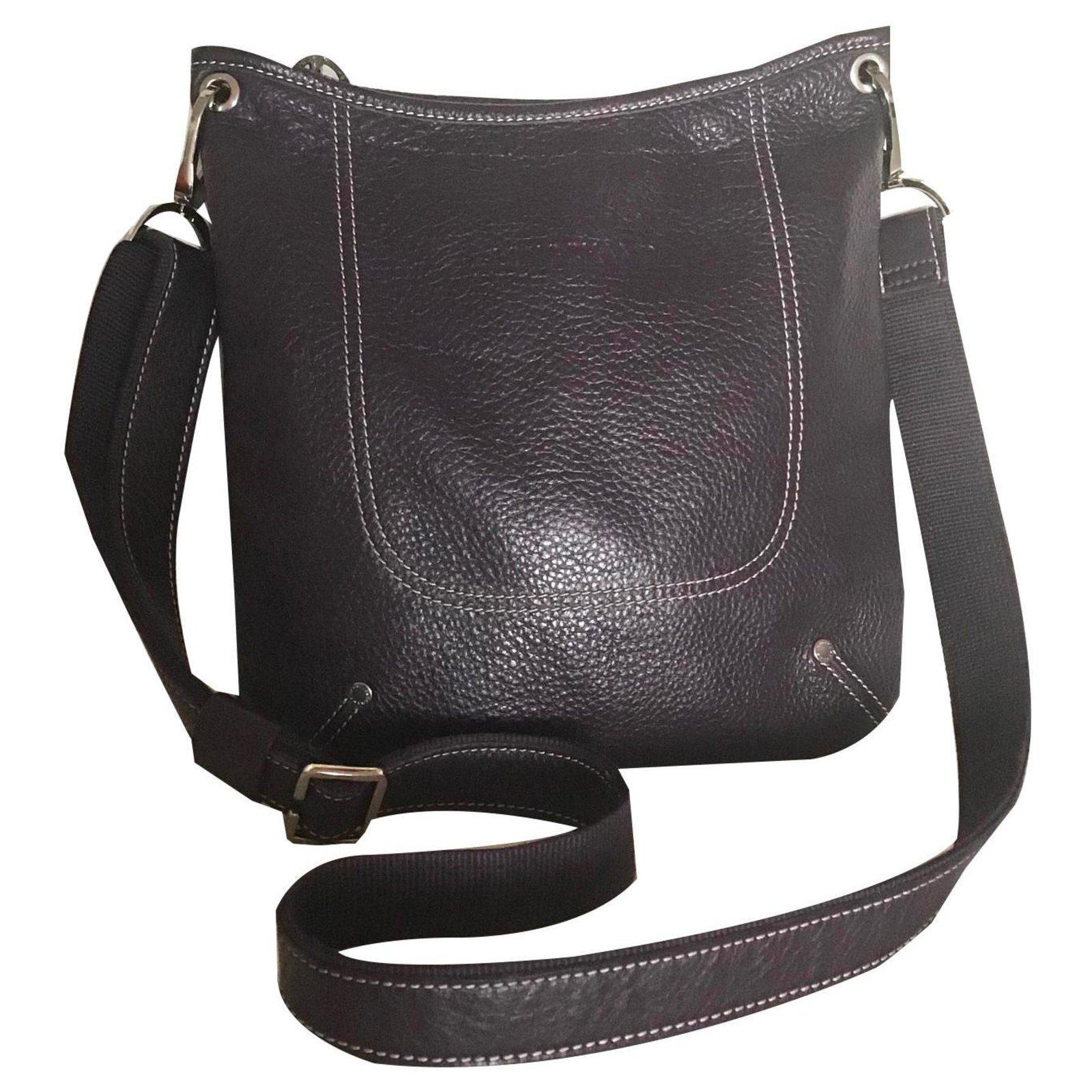 Longchamp Handbags Leather