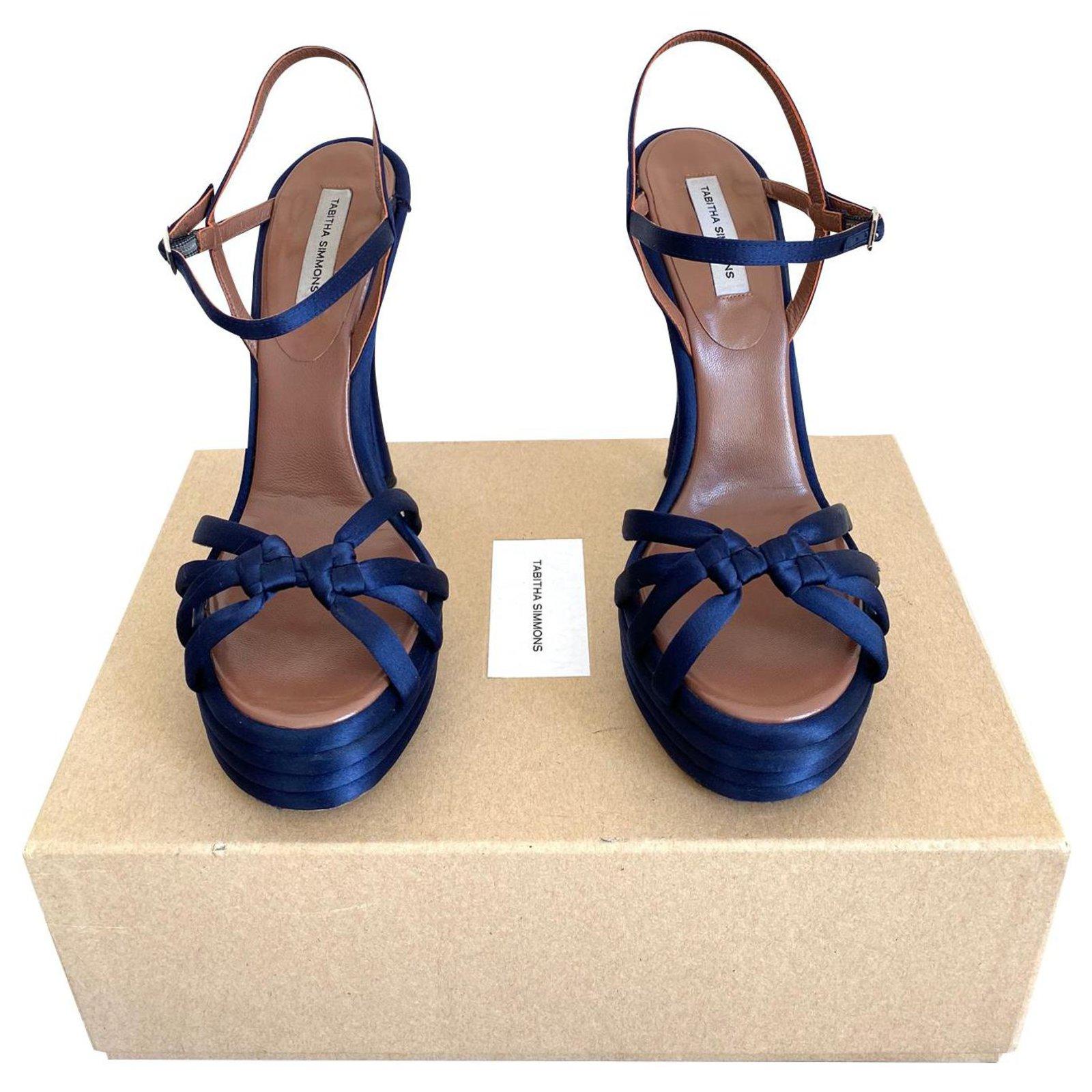 Tabitha Simmons Sandals Sandals Silk