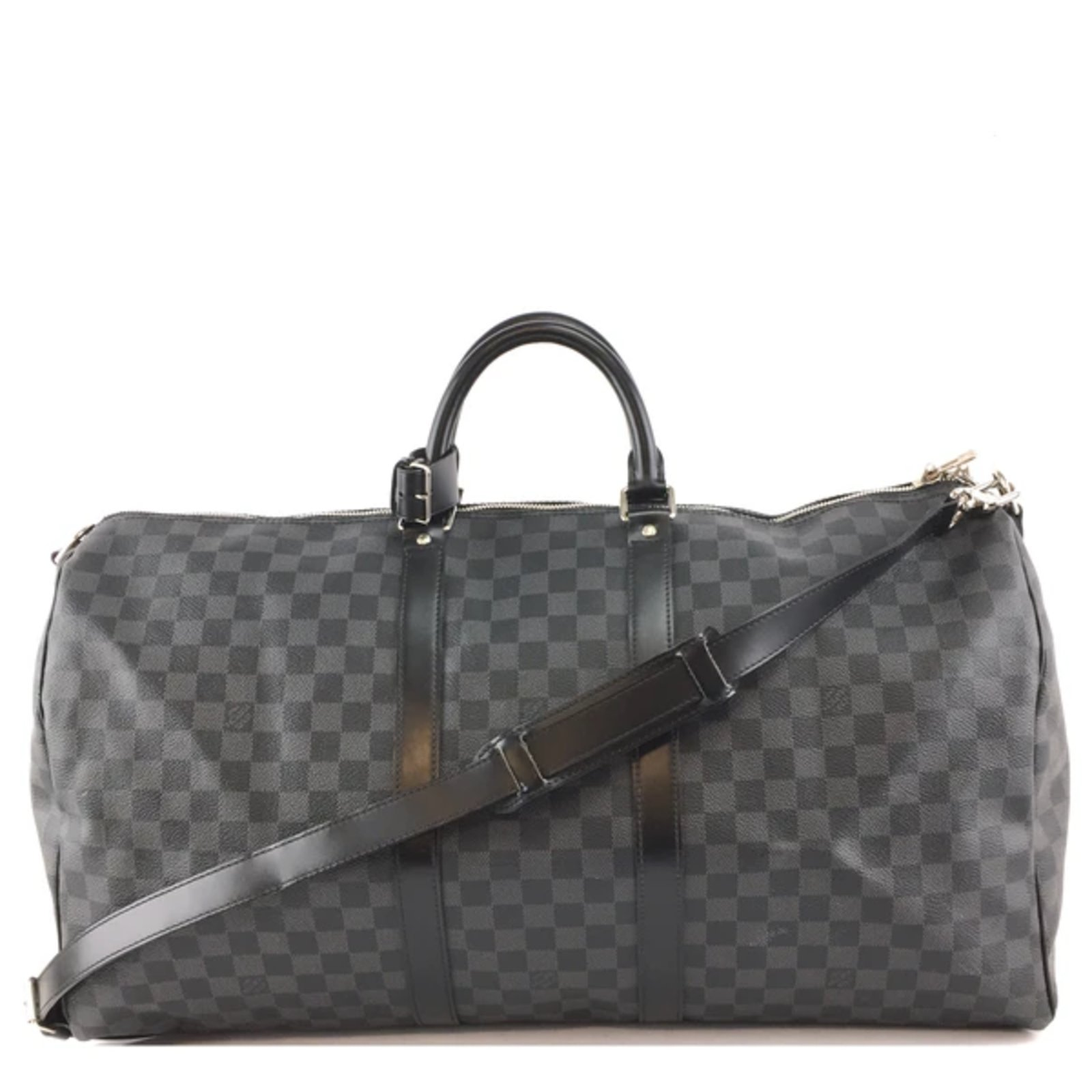 Louis Vuitton Keepall Bandouliere 55 Toile Damier Graphite