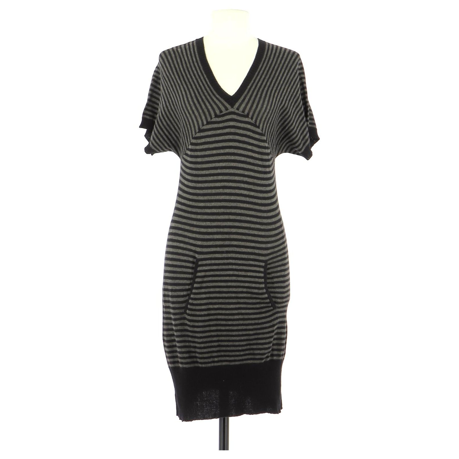 Ikks Robe Dresses Cotton Black Ref 172958 Joli Closet