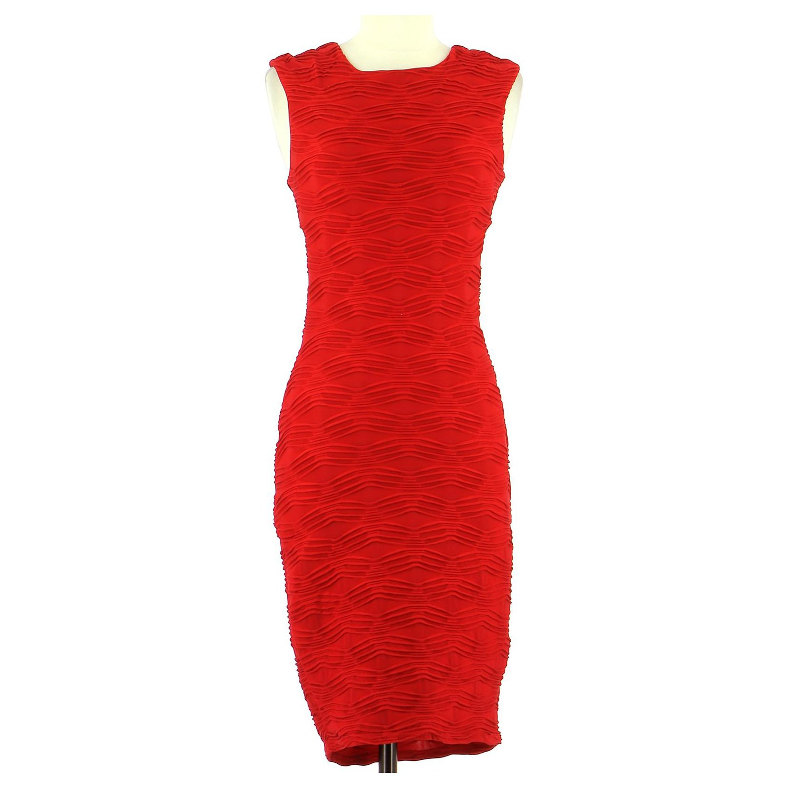 Guess Robe Dresses Polyester Red Ref 173751 Joli Closet