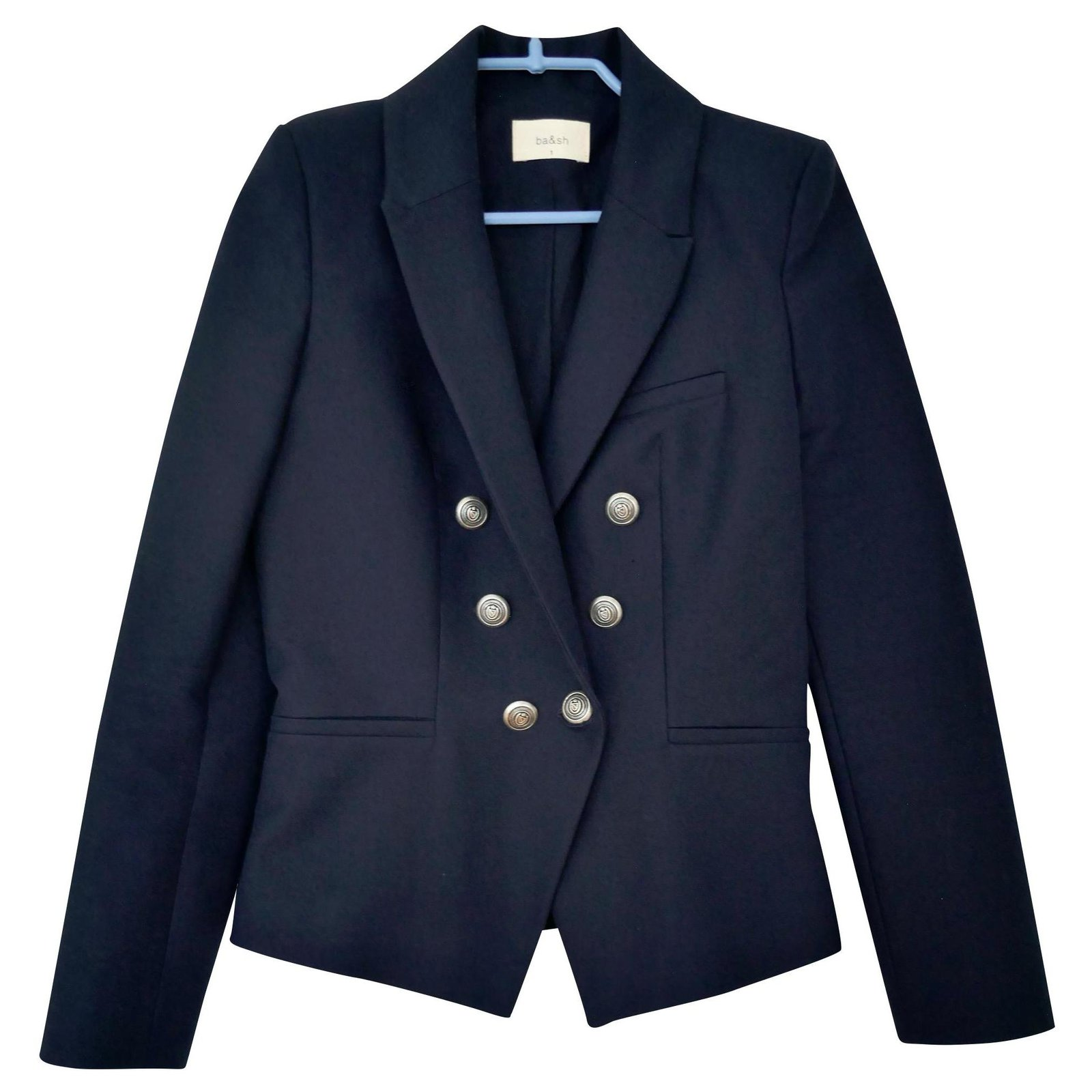 MANTEAU WISH MARINE ba&sh