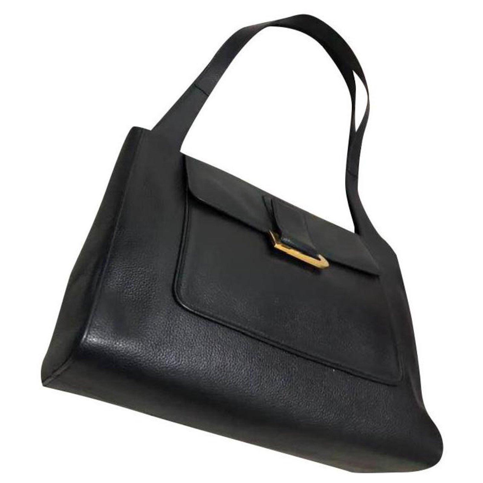 Delvaux Handbags Leather Blue