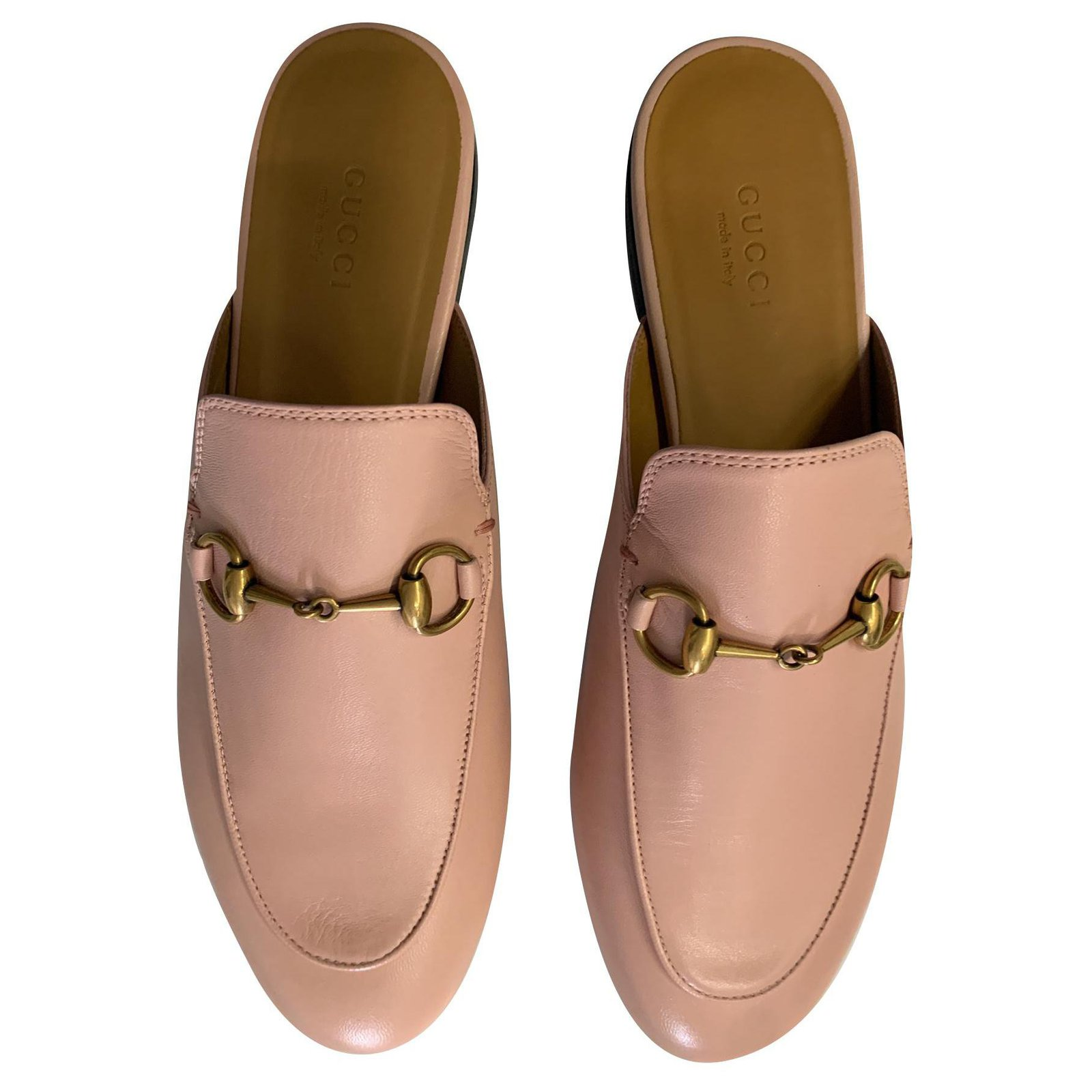 Gucci GUCCI Princetown Leather Mules