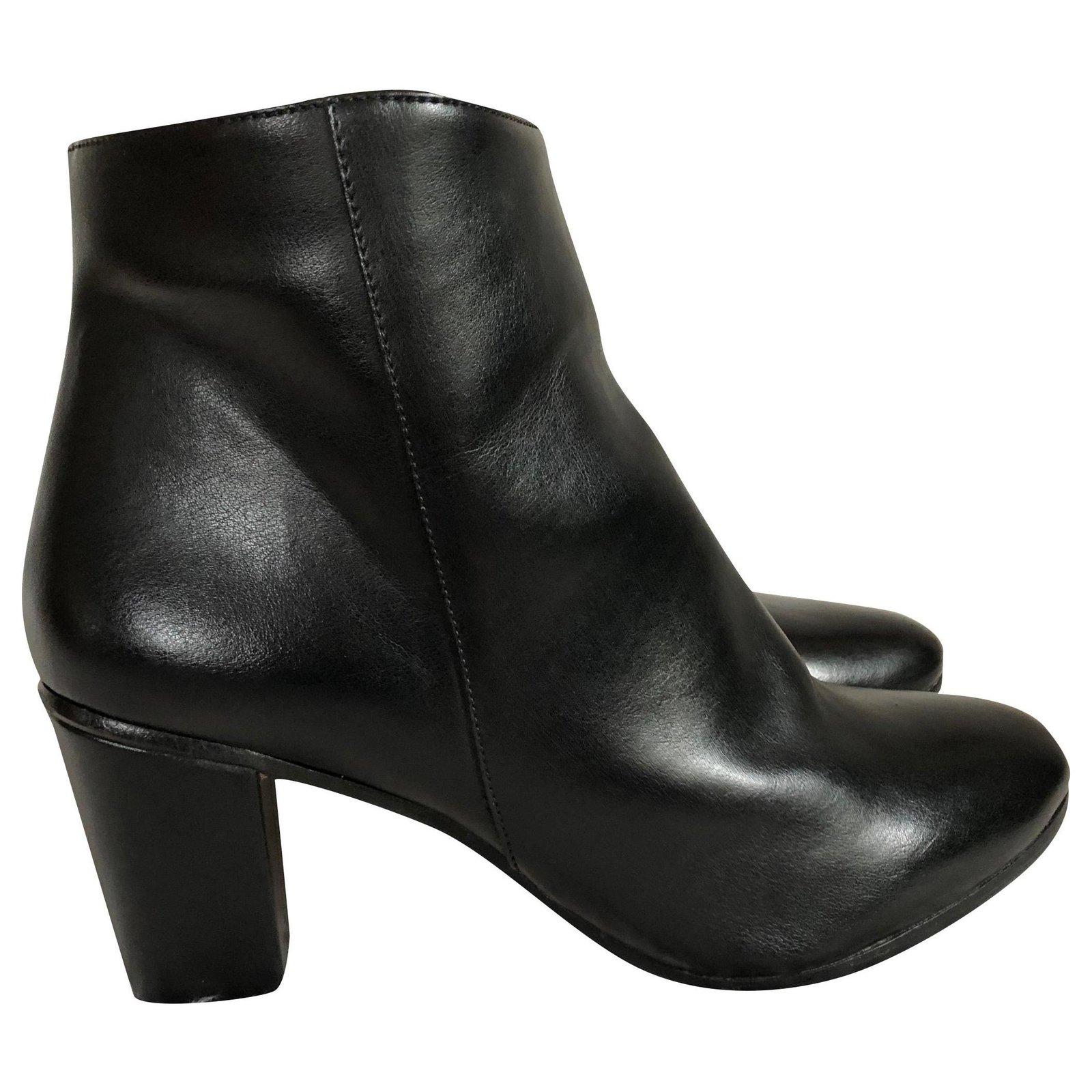 Jonak jonak grime black size like a 38 neo rock style Ankle