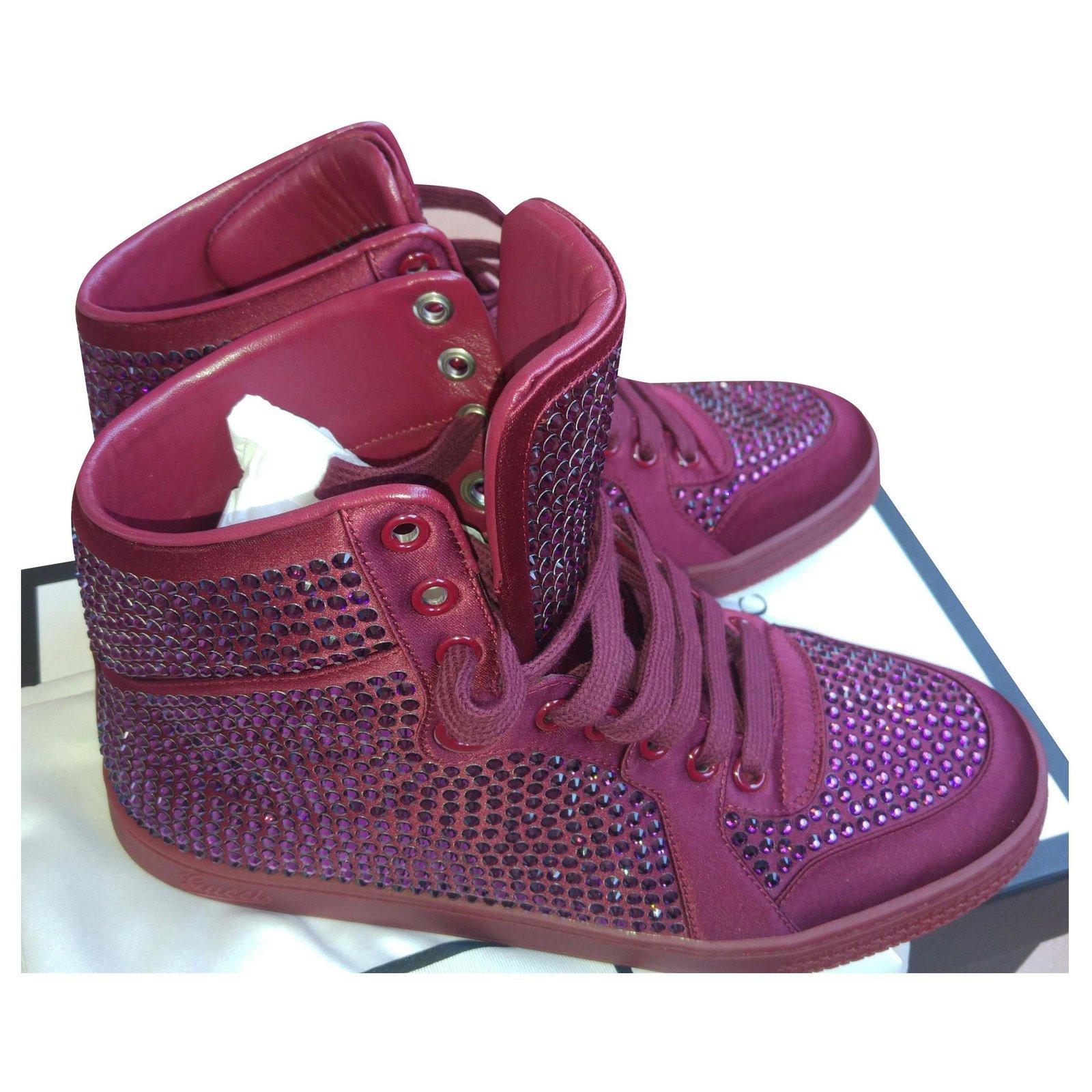 Gucci Gucci Sneakers Swarovski Sneakers