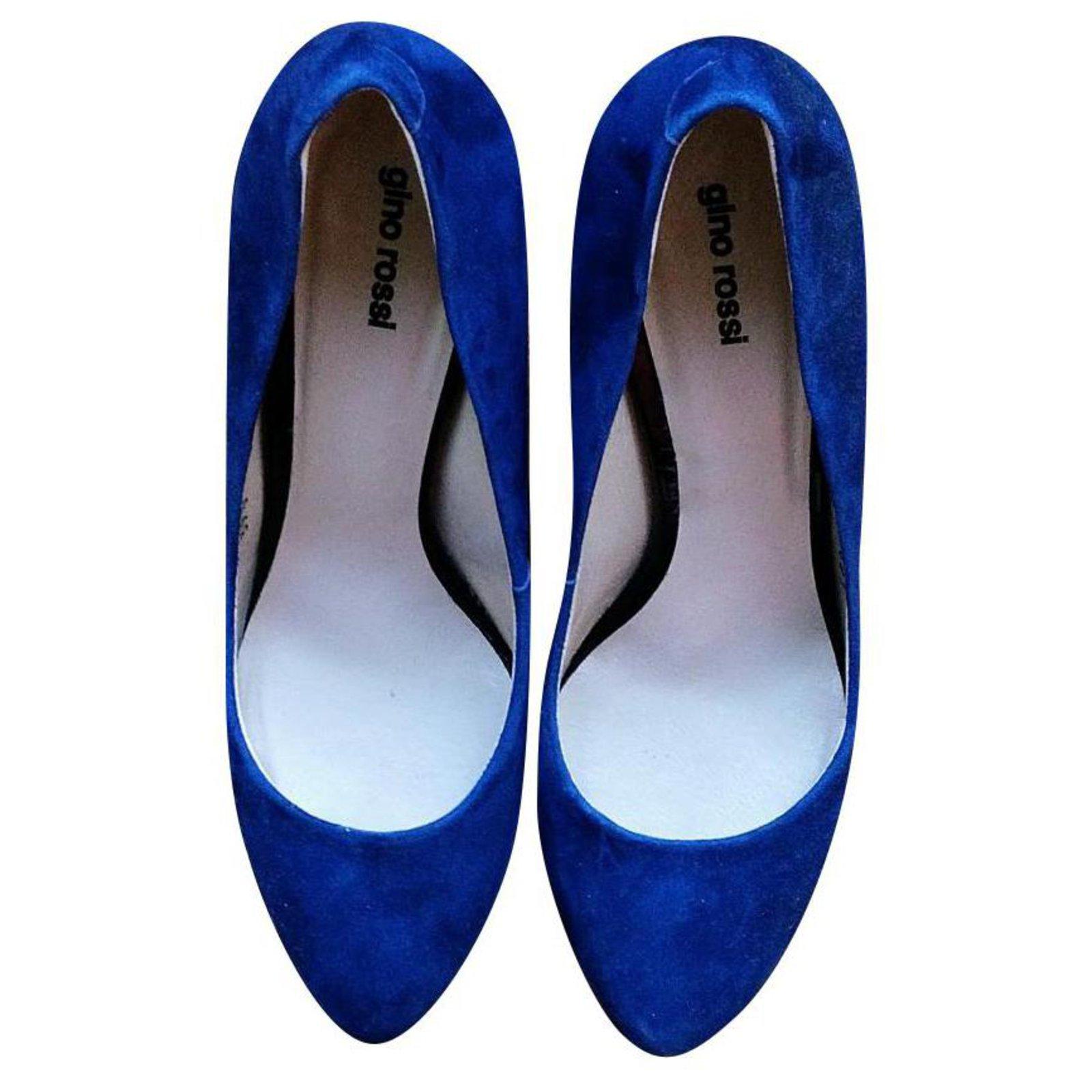Gino Rossi Royal blue pumps Heels