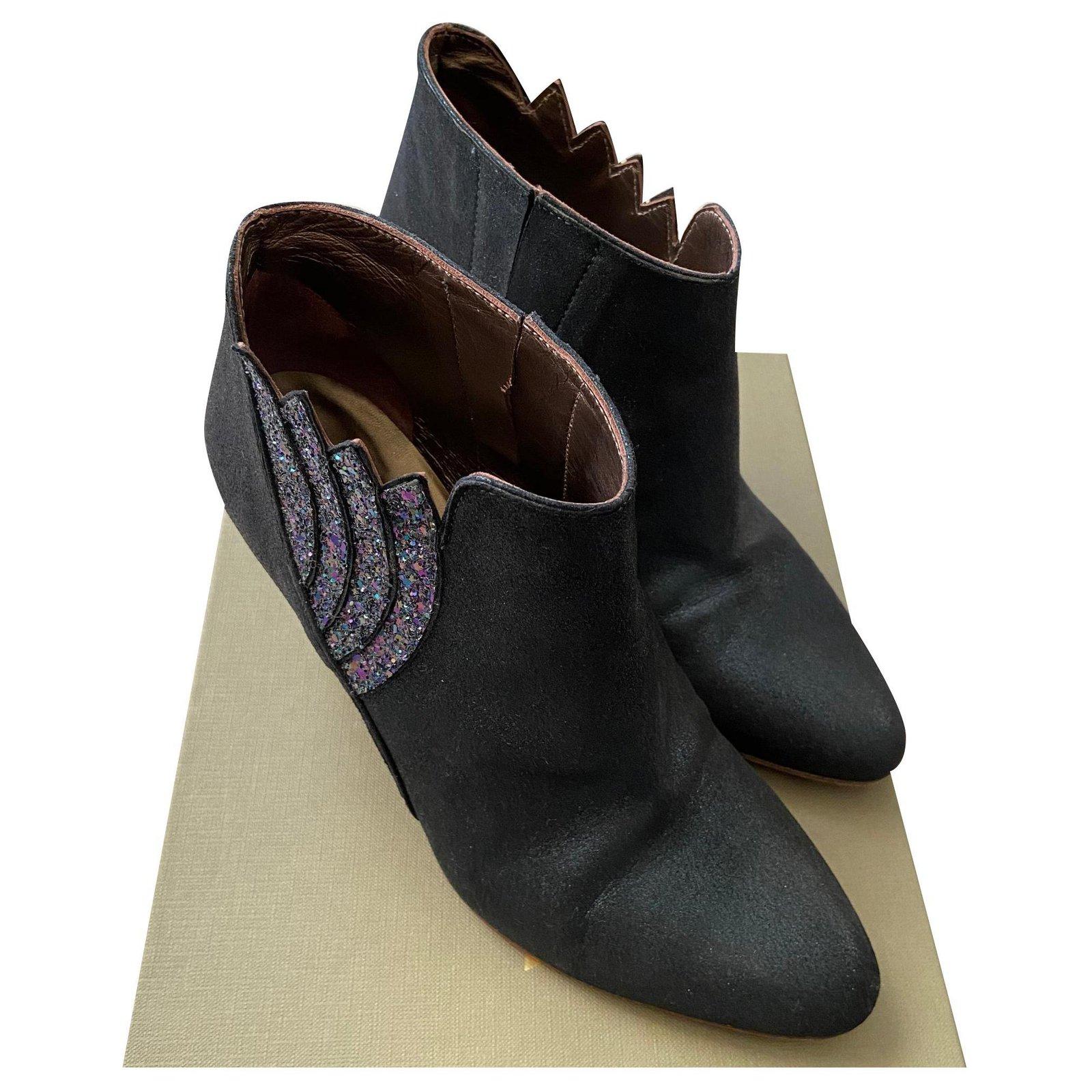 Bottines & low boots à talons PATRICIA BLANCHET Bleu, bleu