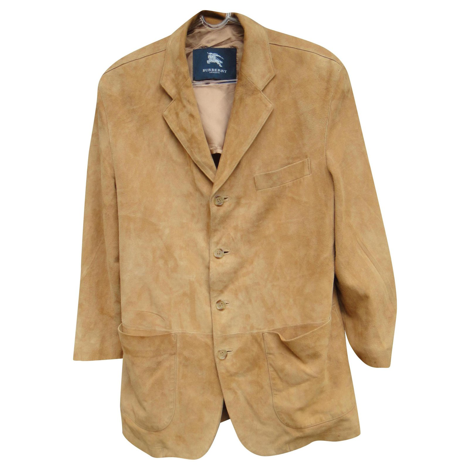 burberry suede jacket