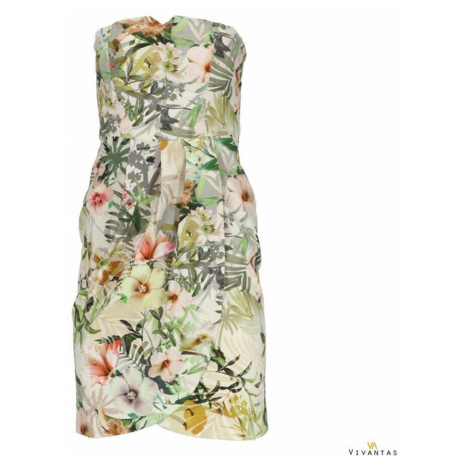 Robes Guess Robes Coton Elasthane Multicolore Ref 201823 Joli Closet
