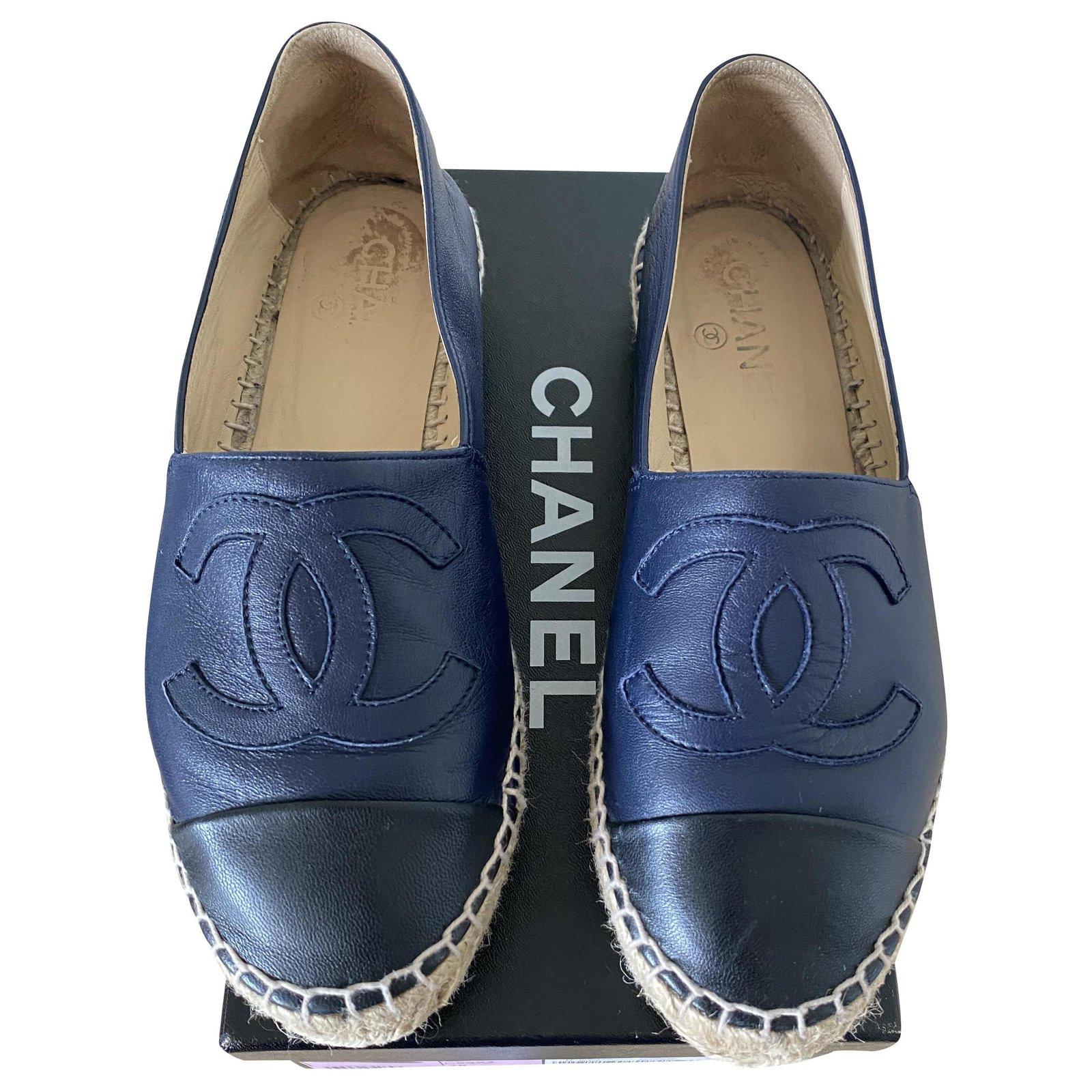 Chanel Espadrilles Espadrilles Leather