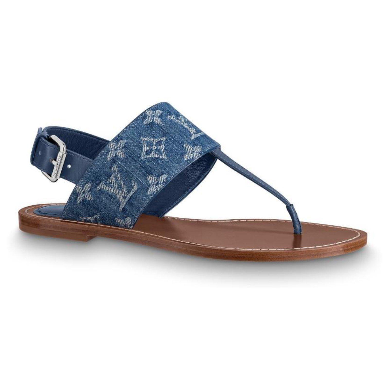 Louis Vuitton Starboard flat sandals