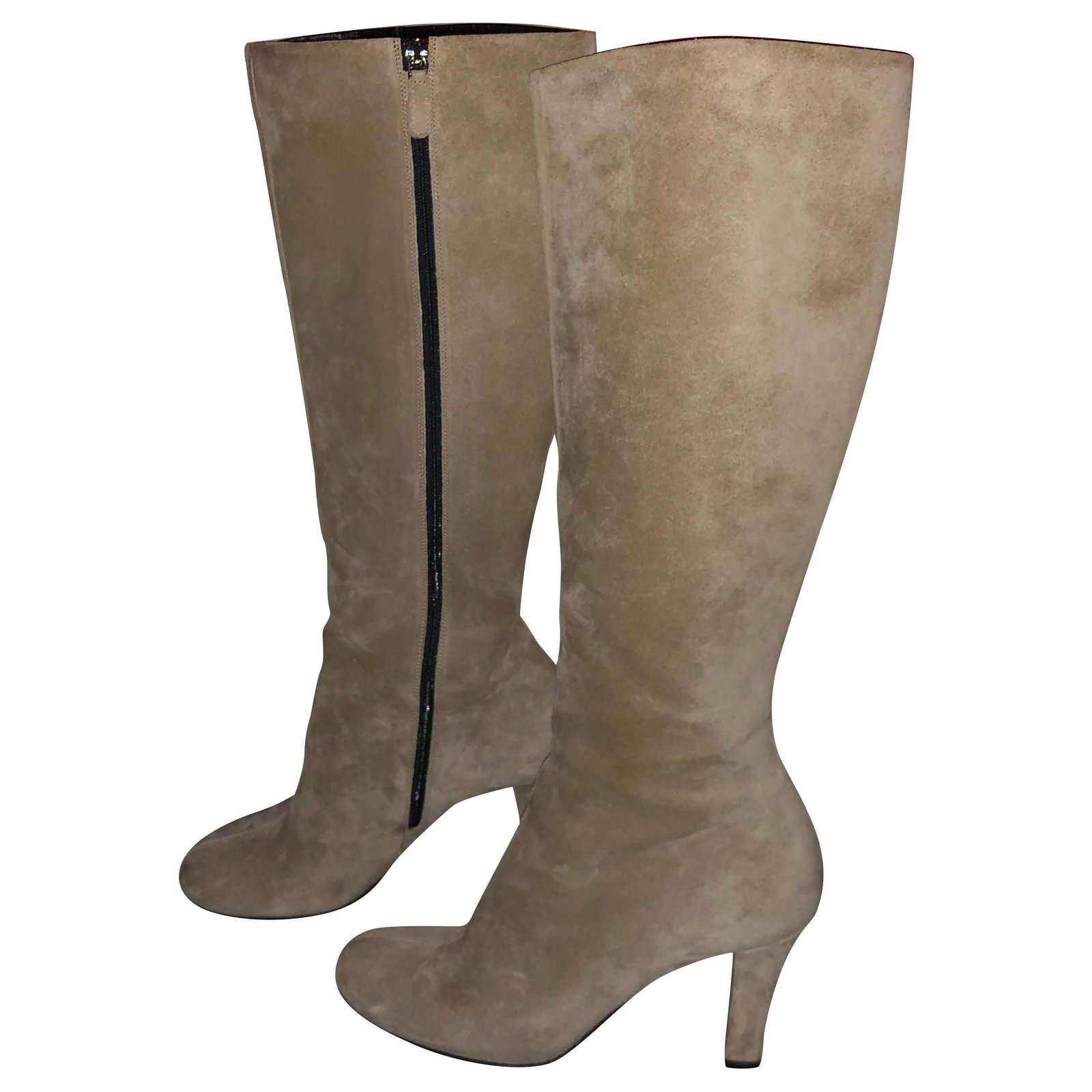 Gucci Gucci suede knee-high boots Boots