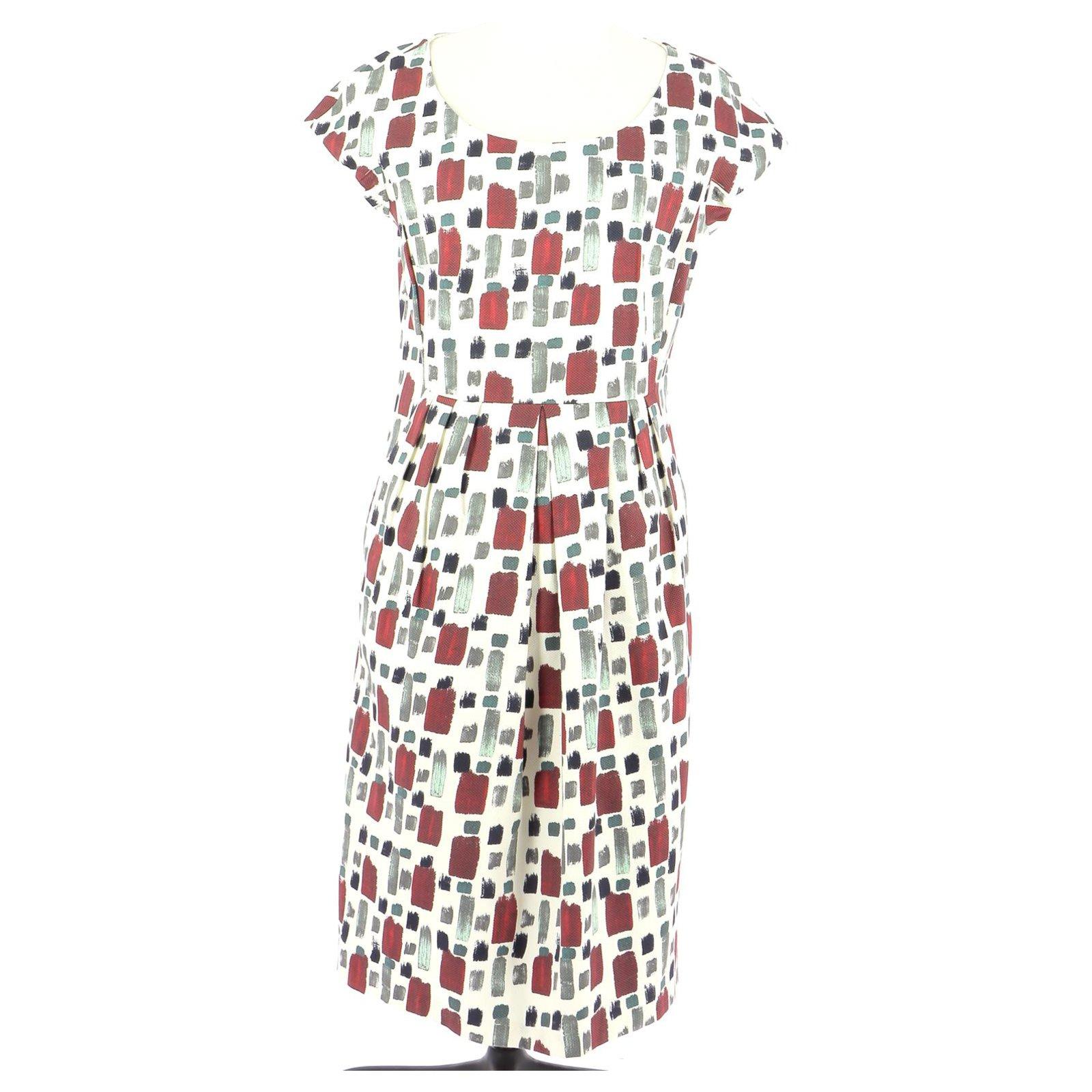 Weekend Max Mara Robe Dresses Cotton Multiple Colors Ref 217411 Joli Closet