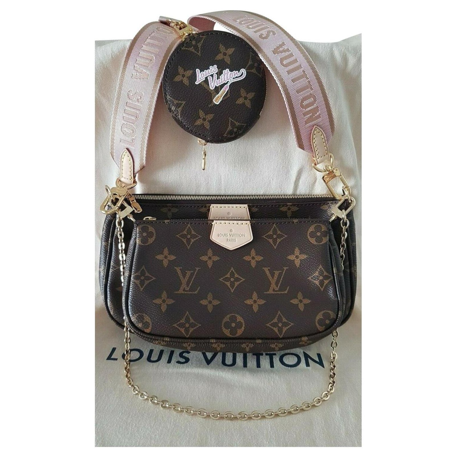 Louis Vuitton Louis Vuitton Multi Pochette Accessoires Monogram Clutch Bags Cloth Other Ref 225287 Joli Closet