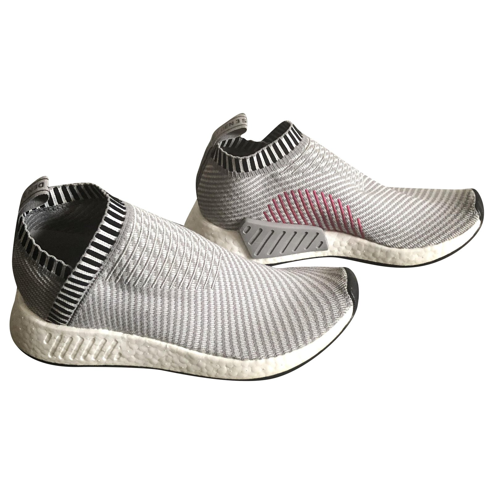 Baskets homme Adidas Adidas NMD sans lacets grises pointure 42 2/3 ...